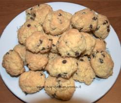 biscotti al cocco per intolleranti al glutine senza lievito