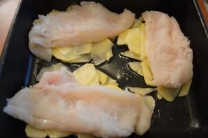 persico con patate e funghi_1 - saporidimamma.it