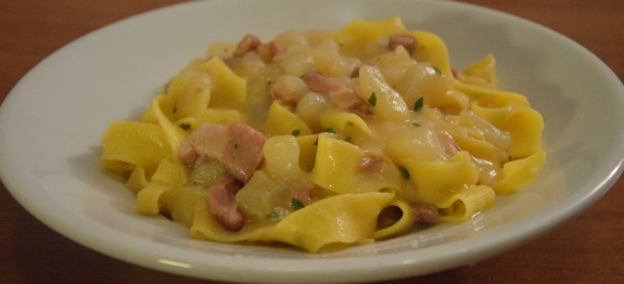 tagliatelle patate e pancetta_2