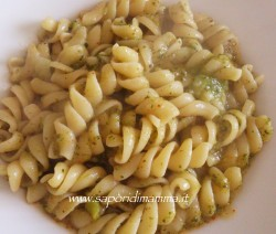 pasta in crema di broccoletti e patate