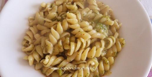 pasta in crema di broccoletti e patate